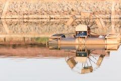 Abwasserbehandlung der Turbinen Stockfoto