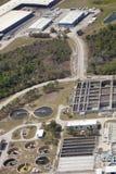 Abwasserbehandlung-Teildienst Stockfoto