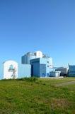 Abwasserbehandlungfabrik. Lizenzfreies Stockfoto