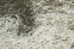 Abwasserentladungshintergrund Lizenzfreie Stockfotografie