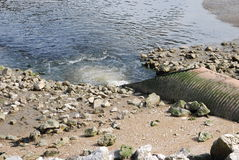 AbwasserEntwässerungssystem Lizenzfreie Stockbilder