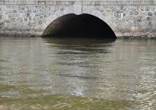 abwasserkanal Stockbild