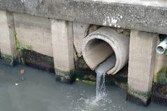 abwasserkanal Stockfoto