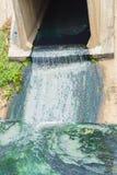 AbwasserkanalAbflussrohr Abwasser Lizenzfreies Stockbild