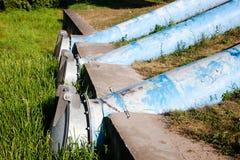 Abwasserleitungen Lizenzfreies Stockbild