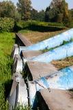 Abwasserleitungen Stockfoto