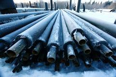 Abwasserrohr-Industrie-Abwasserrohr Stockbilder
