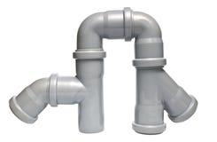 Abwasserrohre Lizenzfreies Stockbild