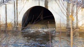 Abwassertunnel Lizenzfreie Stockfotografie
