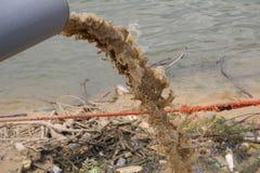 Abwasserverunreinigung Lizenzfreies Stockfoto