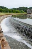 AbwasserWasserbehandlungs-Beckenwasserwerk Lizenzfreies Stockbild