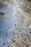 AbwasserWasserverschmutzungsabfall in der Wasserhose Lizenzfreies Stockbild