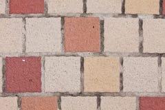 Abwechselnde Farben der Fliese schön Lizenzfreie Stockfotos