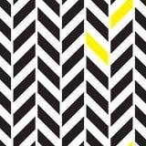 Abwechselndes nahtloses Muster Chevrons Stockbilder