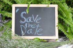 ` Abwehr das Datum ` Wort geschrieben Stockbild