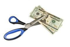 Abwerten des Dollars Lizenzfreie Stockbilder