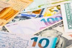 Abwertung von Manat Lizenzfreies Stockfoto