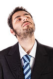 Abwesender Geschäftsmann Stockbilder