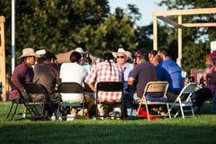 Abwesender Shawnee Pow Wow Lizenzfreie Stockfotos
