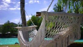 Abwickelnde und entspannende Feiertage stock footage