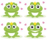 Żaby. royalty ilustracja