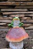 Żaby figurka Obraz Stock