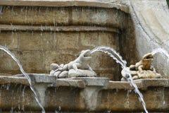 Żaby fontanna Obrazy Stock