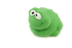 Żaby kąpania zabawka Obrazy Stock