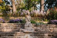 Żaby książe fontanna Zdjęcia Royalty Free