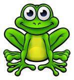 Żaby postać z kreskówki ilustracja wektor
