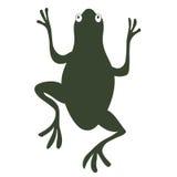 żaby sylwetka Fotografia Stock