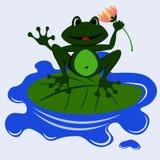 Żaby sztuka 1 Zdjęcia Stock