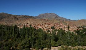 Abyaneh Royalty Free Stock Photography