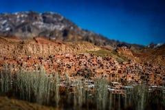 Abyaneh Dorf Stockfoto