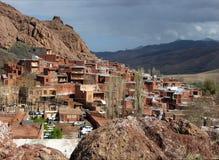 Abyaneh-Dorf im Iran Stockfotos