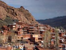 Abyaneh-Dorf im Iran Lizenzfreie Stockfotografie