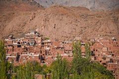 Abyaneh-Dorf in Isfahan-Provinz, der Iran Stockfoto