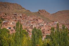 Abyaneh-Dorf in Isfahan-Provinz, der Iran Stockbilder