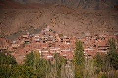 Abyaneh-Dorf in Isfahan-Provinz, der Iran Stockfotografie
