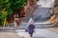 Abyaneh im Iran Lizenzfreies Stockbild