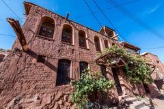 Abyaneh im Iran Stockbild