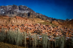 Abyaneh village Stock Photo