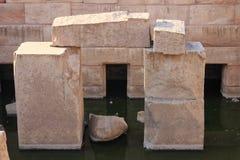 Abydos Tempel Stockbild
