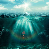 Abyss. Stock Images