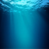 Abyss. Abstract underwater backgrounds for your design Stock Images