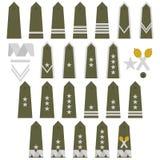 Abzeichen der polnischen Armee lizenzfreie abbildung