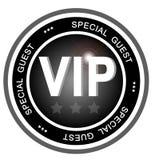 Abzeichen des VIP-speziellen Gastes Stockbild