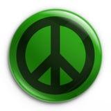 Abzeichen - Frieden Stockfoto
