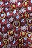 Abzeichen Mao Zedong Stockbild