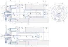 Abziehvorrichtung vektor abbildung